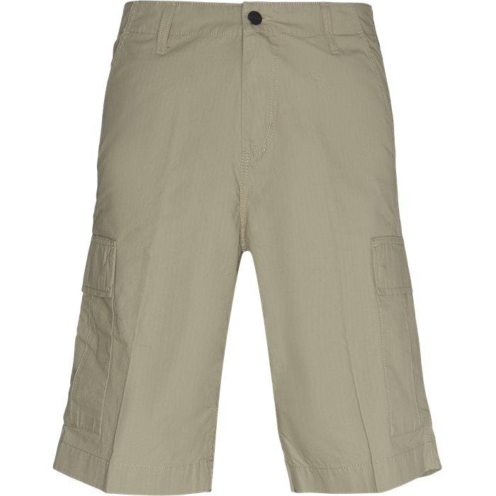 Regular Cargo Shorts - Shorts - Regular - Sand